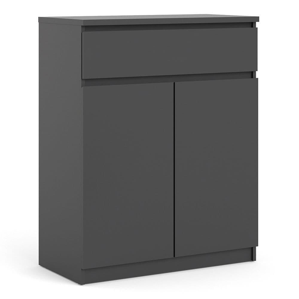 Enzo Sideboard - 1 Drawer 2 Doors in Black Matte